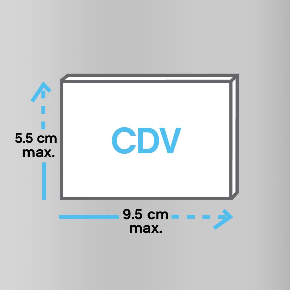 Set 4 cadre photo auto-adhésif pour le format de fichier image 10x15 CM